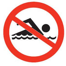 Sanford Lake swimming area closed