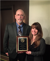 Mosquito Control's Joyce McLaughlin receives award