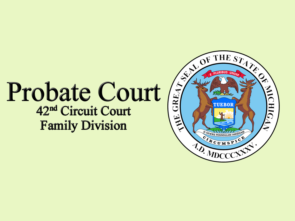 County of Midland Michigan Courts Probate and Juvenile Court